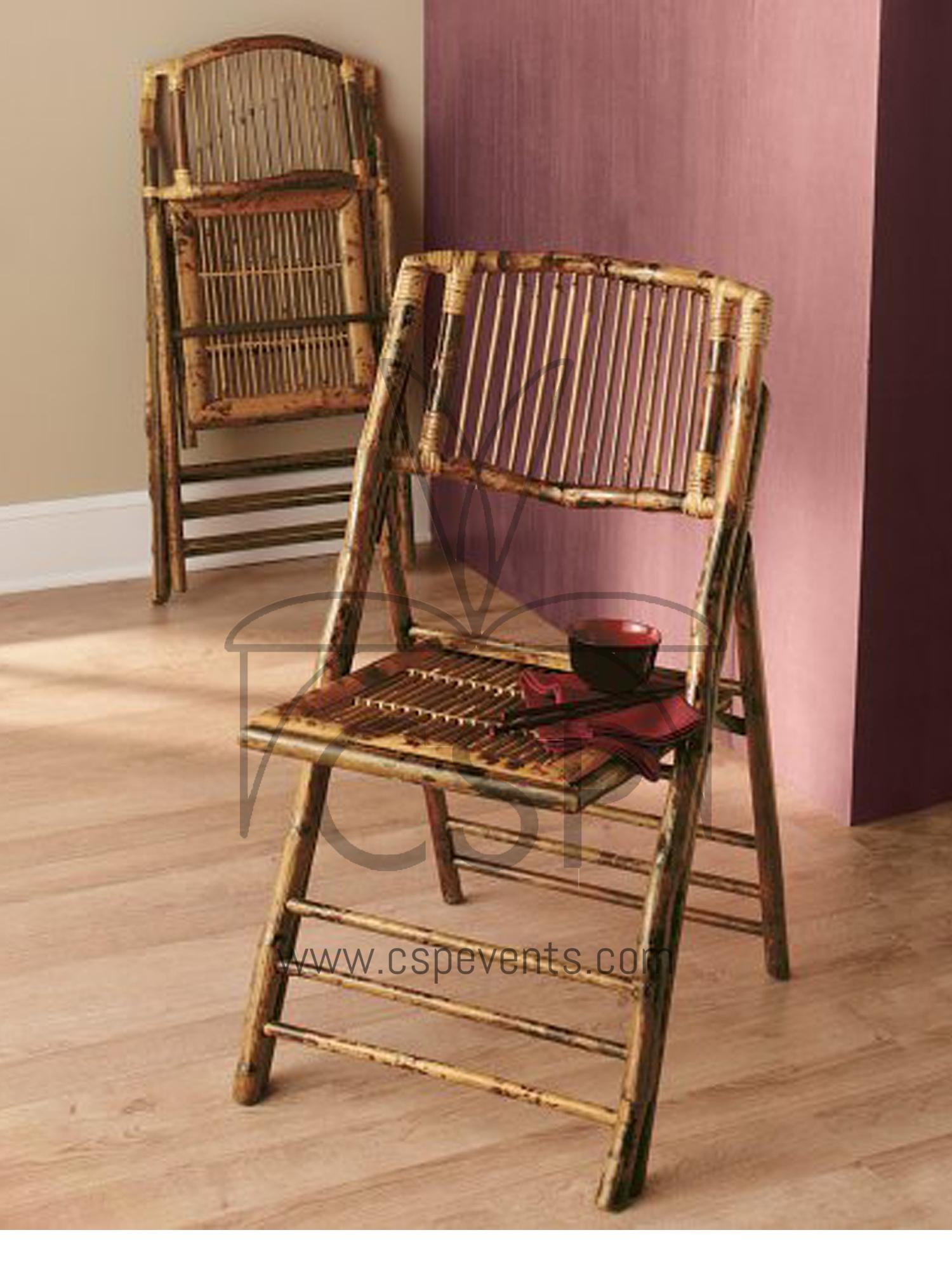 Bamboo Folding Chair – CSP