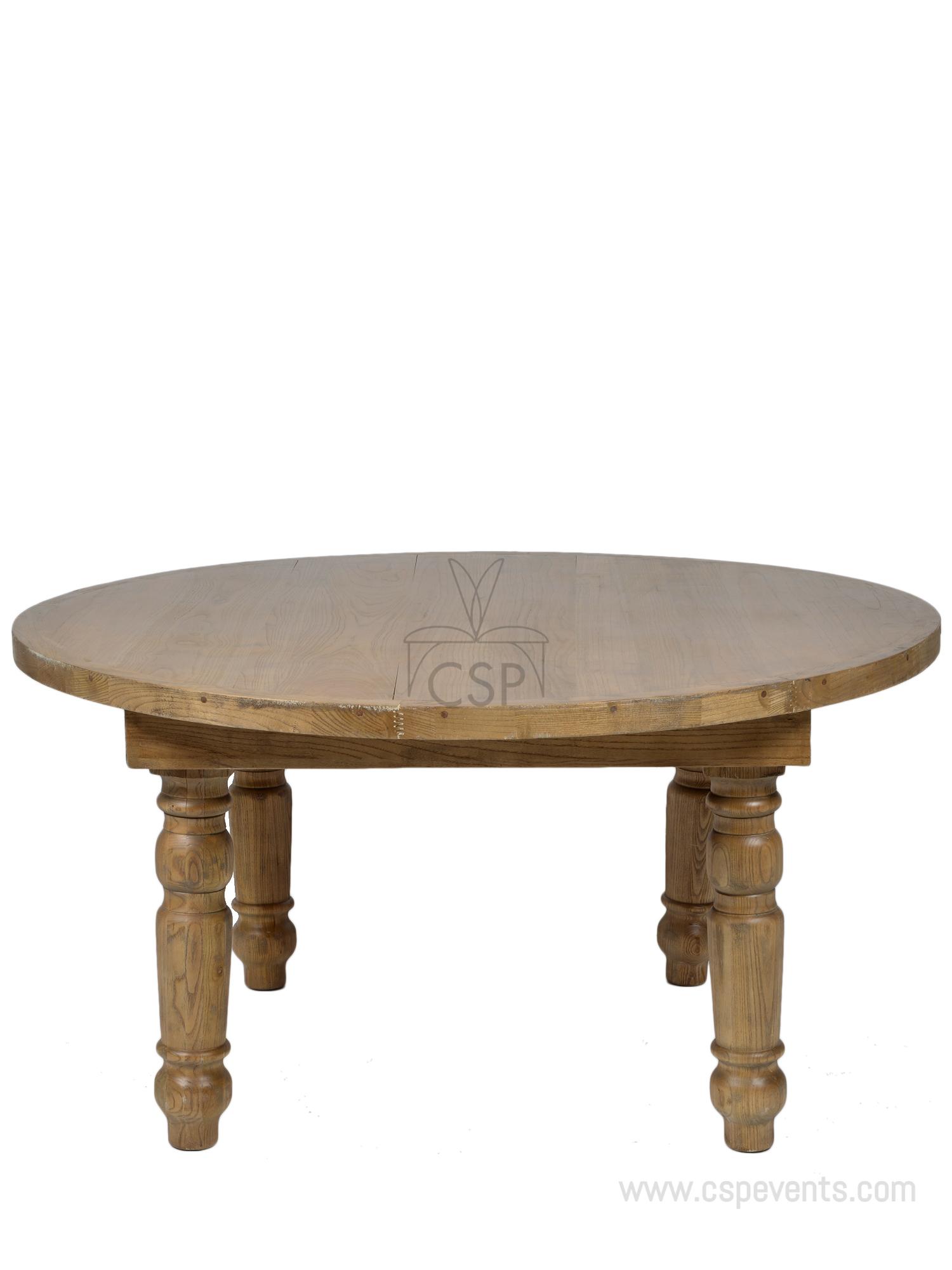 Round Foldable Farm Table Csp