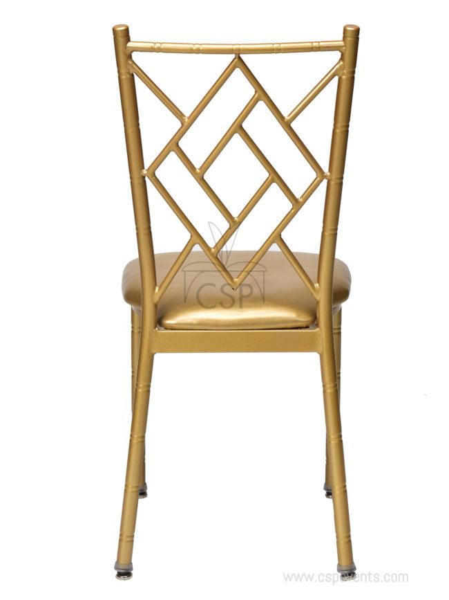 Metal Ballroom Chiavari Chair Rose Csp