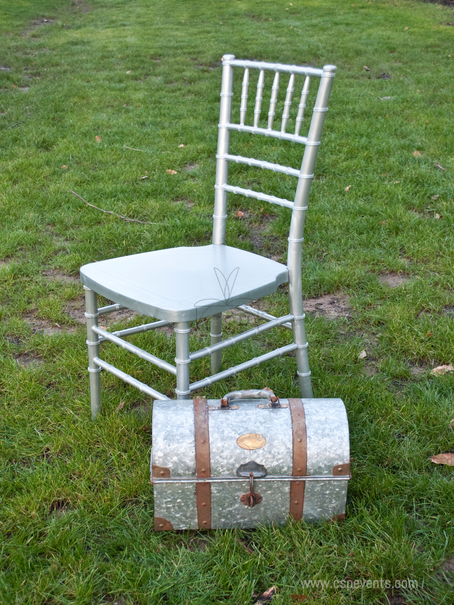 Max Chiavari Chair Steel Core With Marbelized Colored
