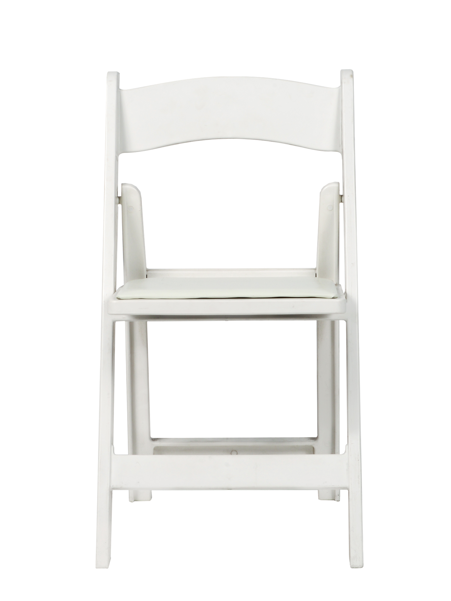 Lovely White Wood Folding Chairs Unique