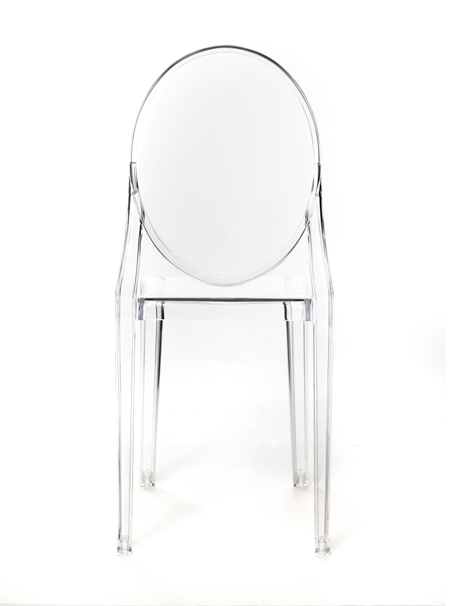Polycarbonate Ghost Chair without Arm – CSP