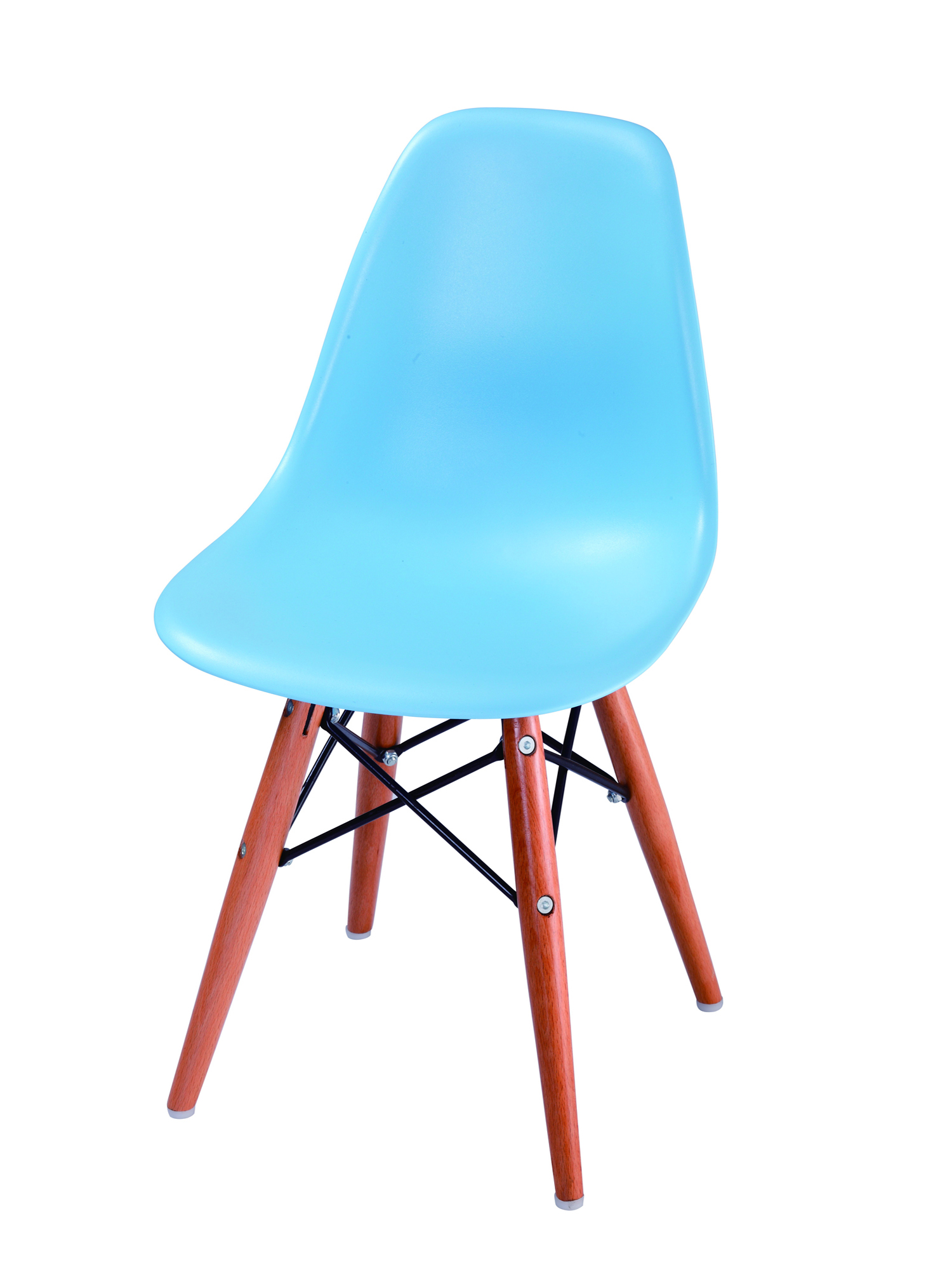 Eame style chair-blue-2