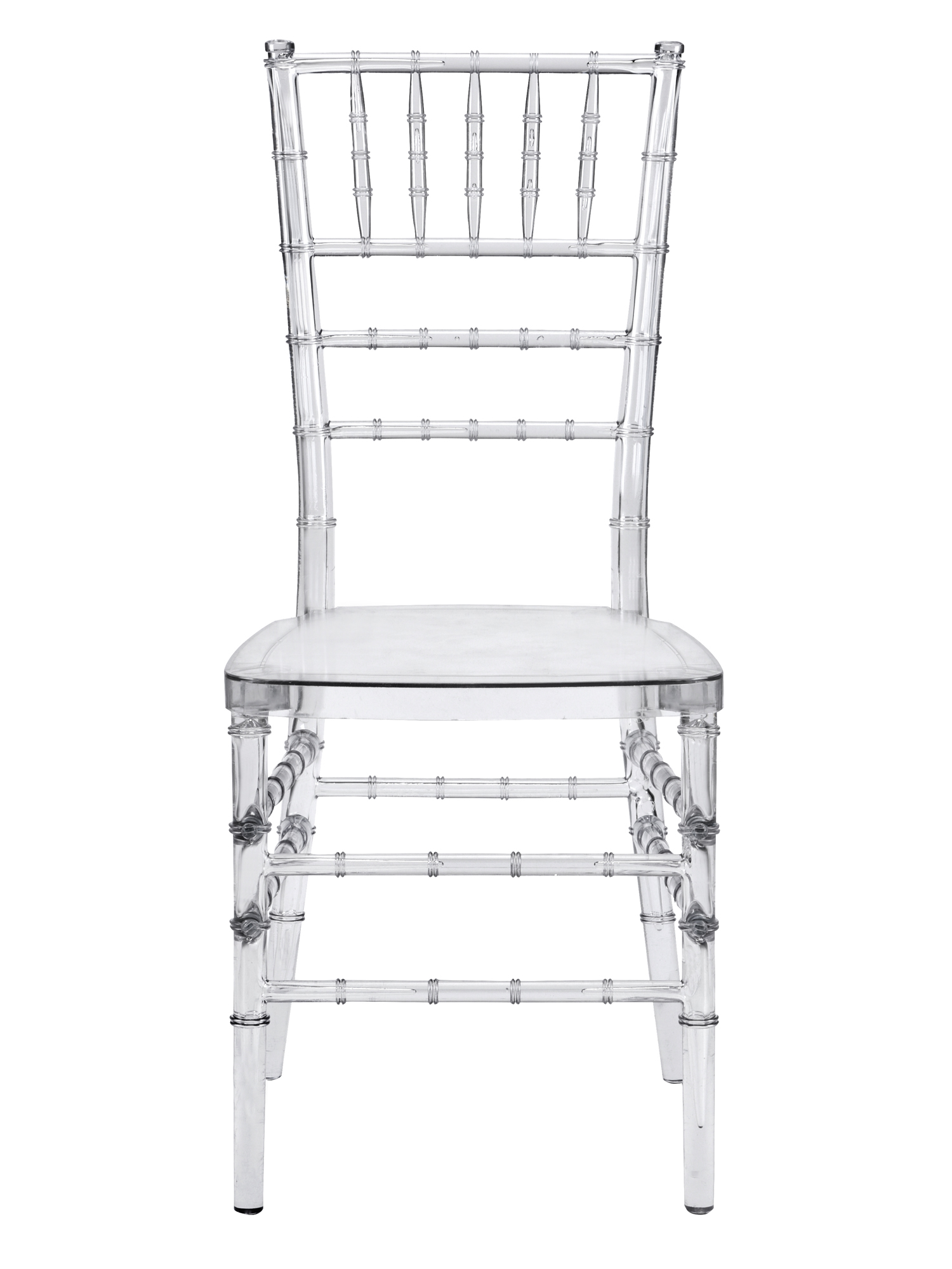 Mirage Clear Stackable Chiavari Chair – CSP