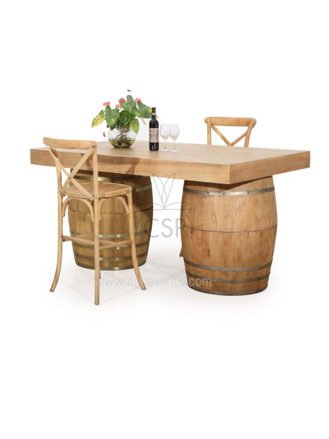 Wine Barrels Table Base Top