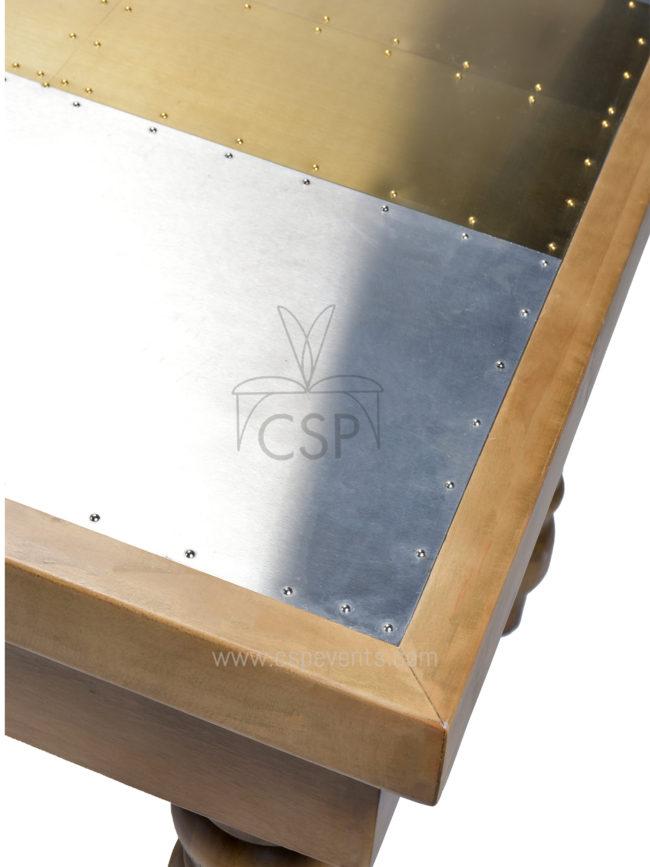 Metal Top Foldable Farm Table Csp