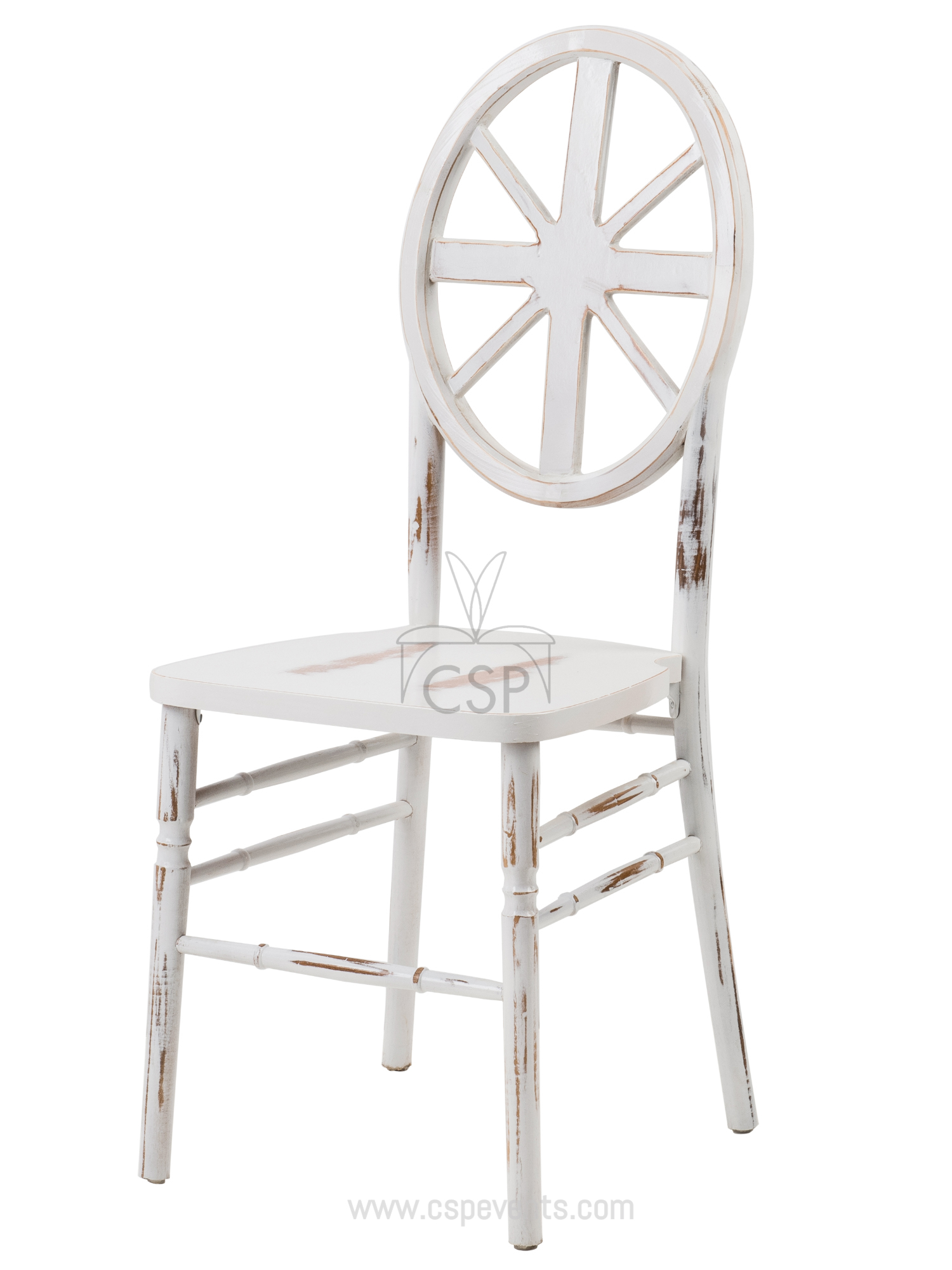 Veronique Series Stackable Wood Dining Chair Wagon Csp