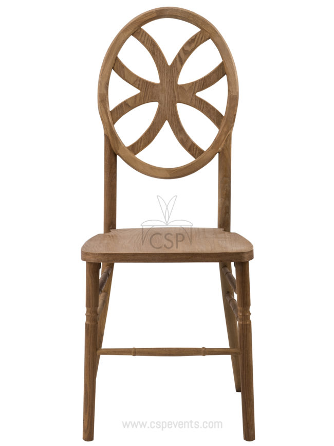 Veronique Series Stackable Wood Dining Chair Clover Csp