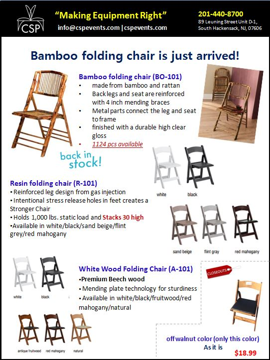 bamboo folding chairs are back csp