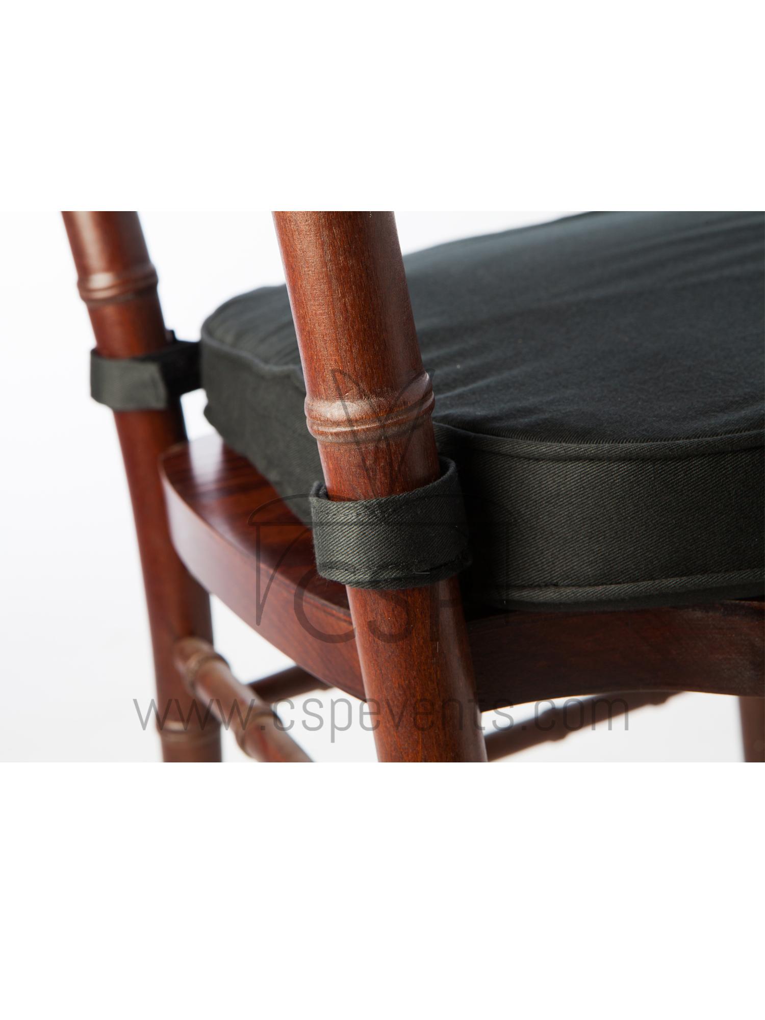 Chiavari Chair Soft Velcro Tab Cushion Csp