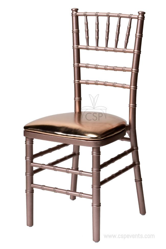 Rose Gold Stackable American Classic Wood Chiavari Chair Csp
