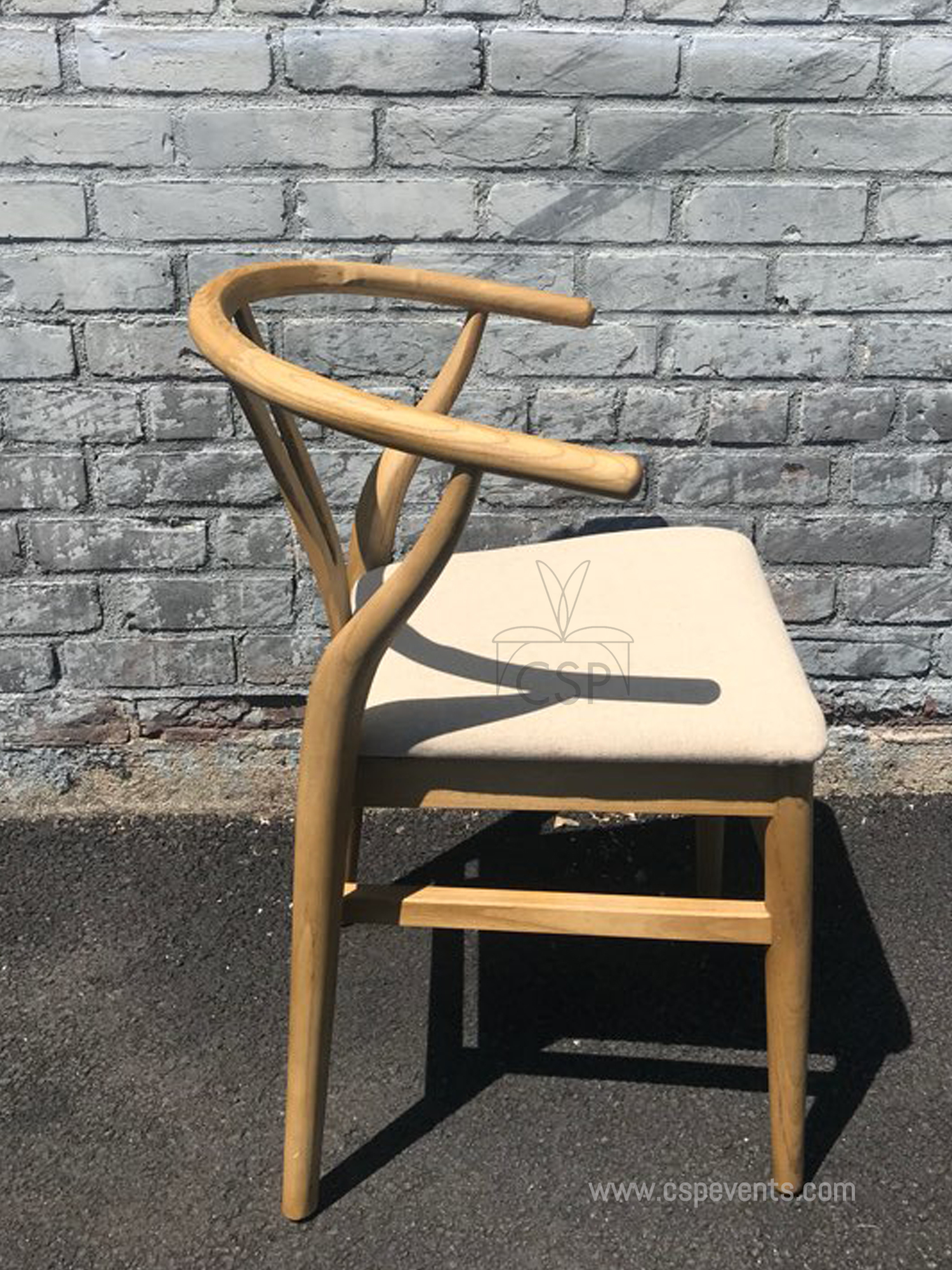 Stackable Mid Century Museum Chair W Arm Csp