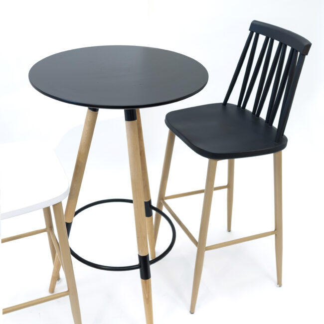 Plastic Bar Height Cocktail Tables Mdf Table Top With